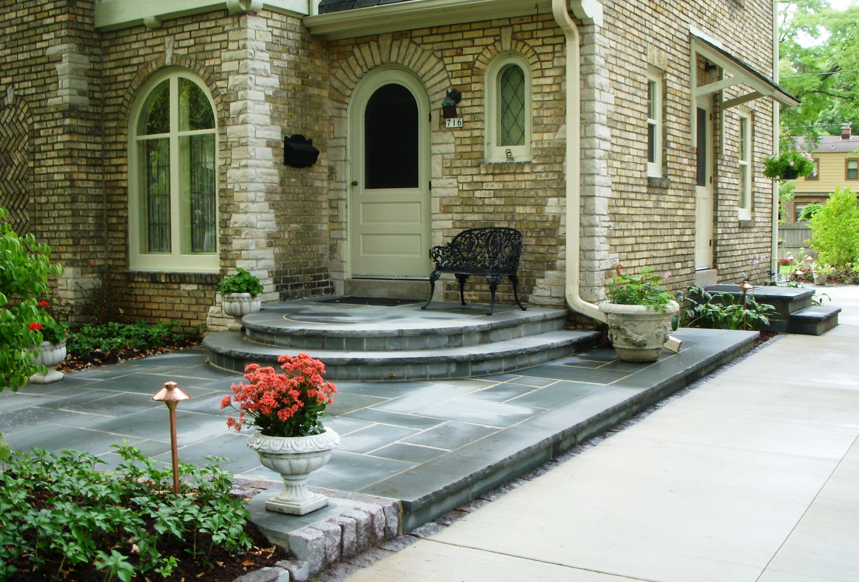 front stoop | REFLECTIONS from Wandsnider Landscape Architects